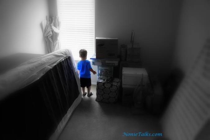 Babyman And His New Room